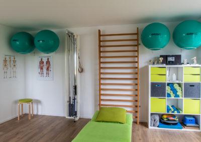 Physiotherapie Gallwitz in Stuhr / Unsere Praxisräume